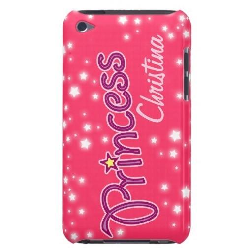 Princess christina back cover of mobile phone