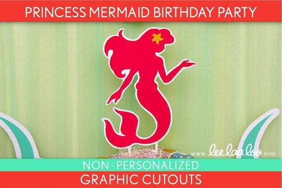 Princess mermaid birthday party