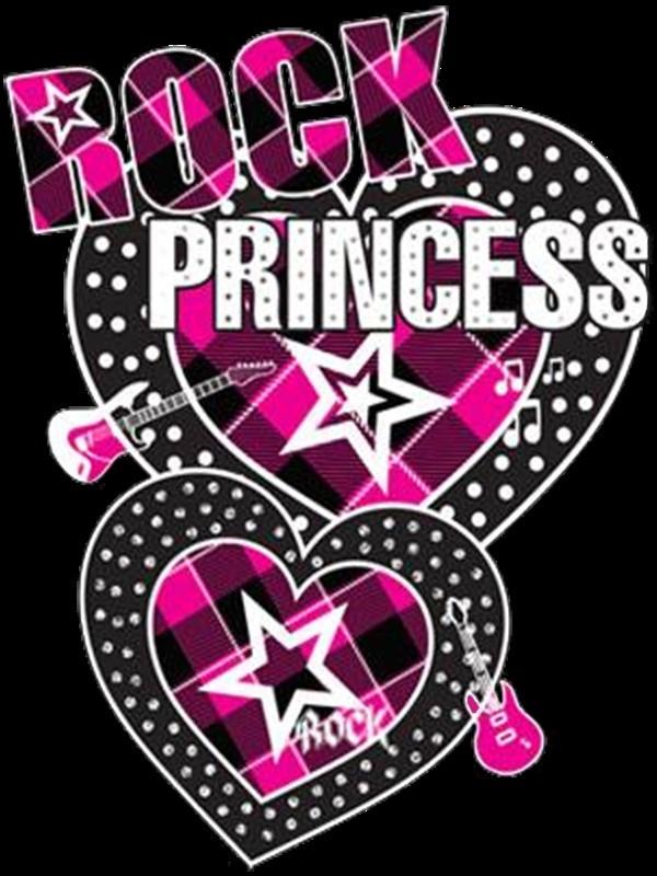 Rock princess hearts
