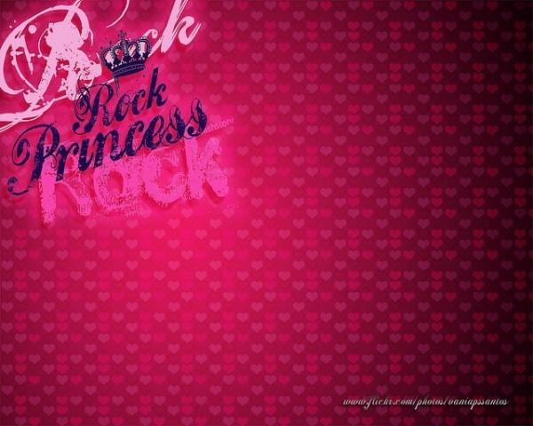 Rock princess wallpaper