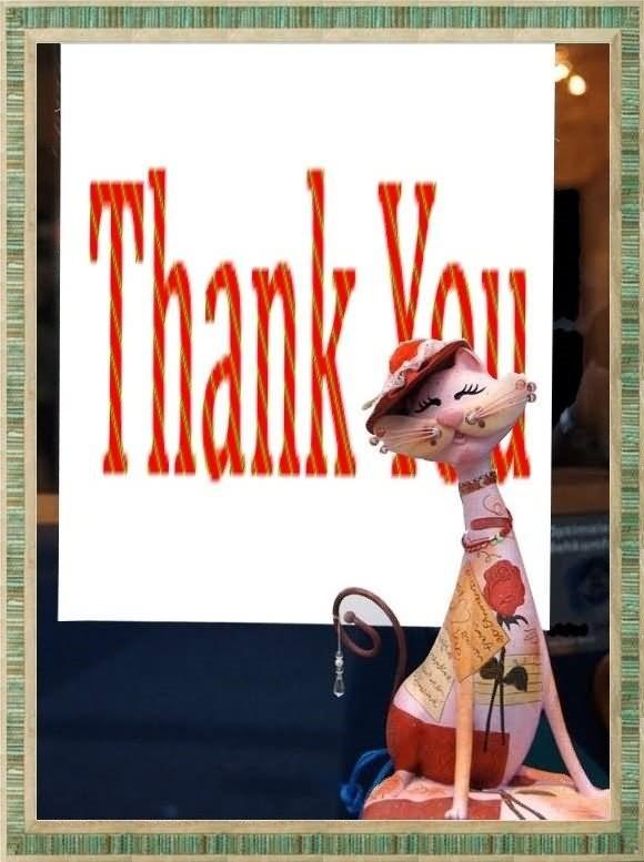 Thank yo cat