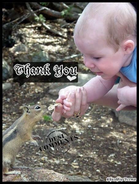 Thank you kid