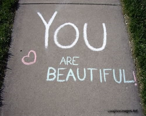 You are beautiful picture