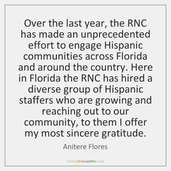 Over the last year, the RNC has made an unprecedented effort to ...