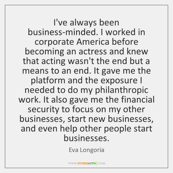 I've always been business-minded. I worked in corporate America before becoming an ...