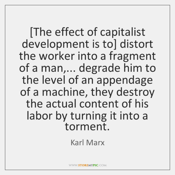 the dangers and pitfalls of a capitalist regime in the works of karl marx Karl marx was born in 1818 in trier the world revolves on a capitalist economy wherein people with money hire people without money to make things and provide.