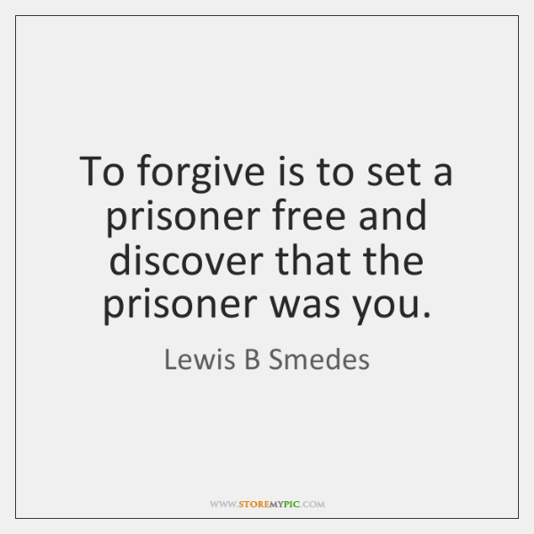 Tim Fargo On Twitter To Forgive Is To Set A Prisoner Free And