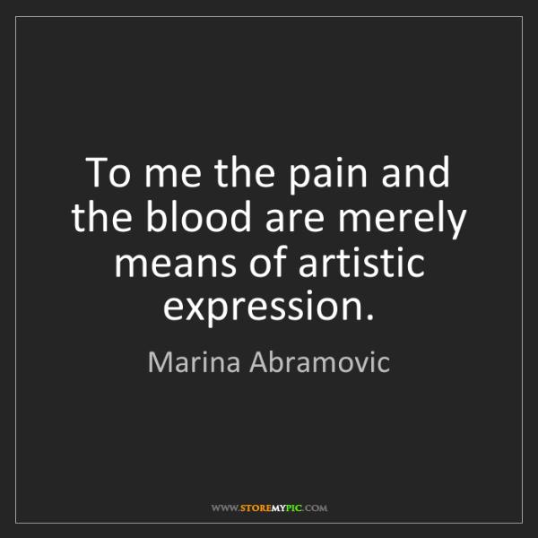 define artistic expression