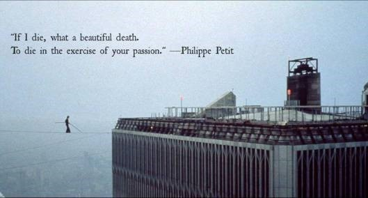If i die what a beautiful death to die in the exercise of your passion