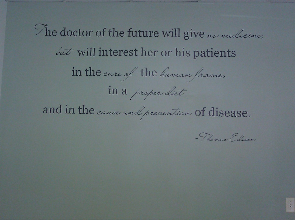 The Doctors Of The Future Will Give No Medicine But Will Interest