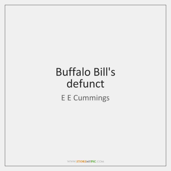 Buffalo Bill's  defunct