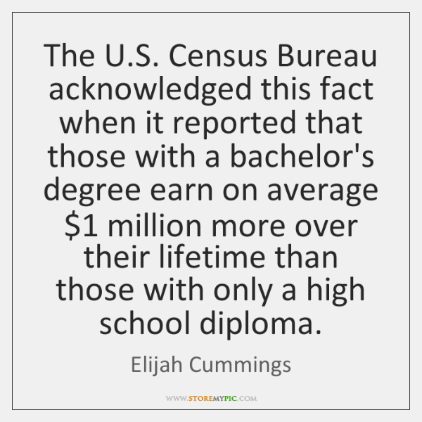 The U.S. Census Bureau acknowledged this fact when it reported that ...