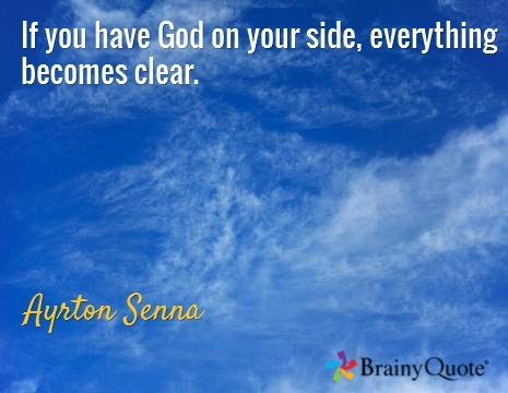 If You Have God On Your Side Everything Becomes Clear Storemypic