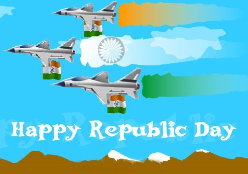 Happy republic day aeroplanes