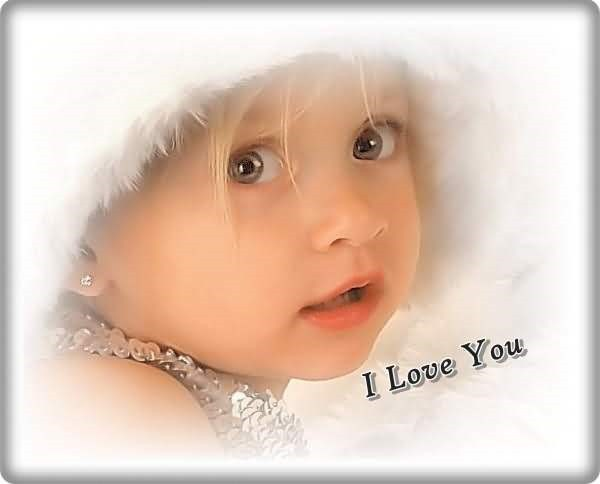 cute Baby Love U Wallpaper : I Love U cute Baby Images Wallpaper Images