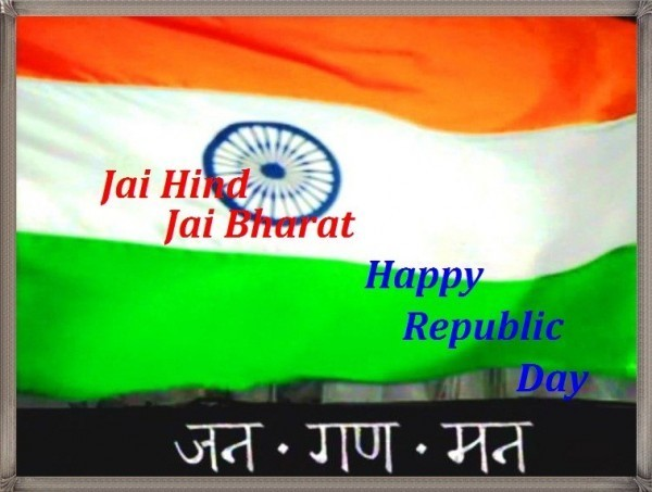 Jai hind jai bharat happy republic day