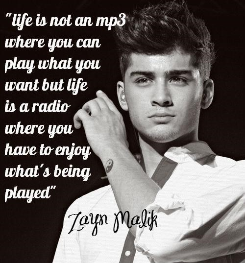 Life is not an mp3 where you can play what you want but life is a radio where you have to enjoy what