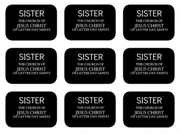 Sister the church of jesus christ of latter day saints