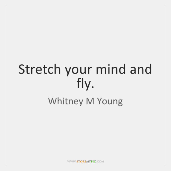 Stretch Your Mind And Fly Storemypic