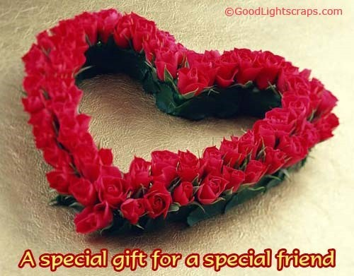 A special gift for a special friend roses bouqet happy rose day