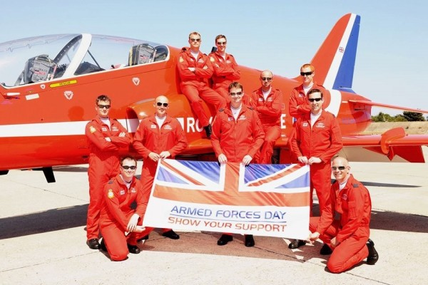 Air force celebrating armed forces day