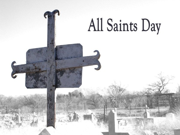 All saints day cross