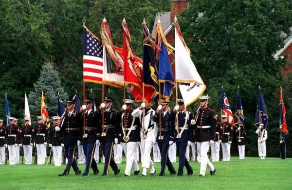 American armed forces day parade