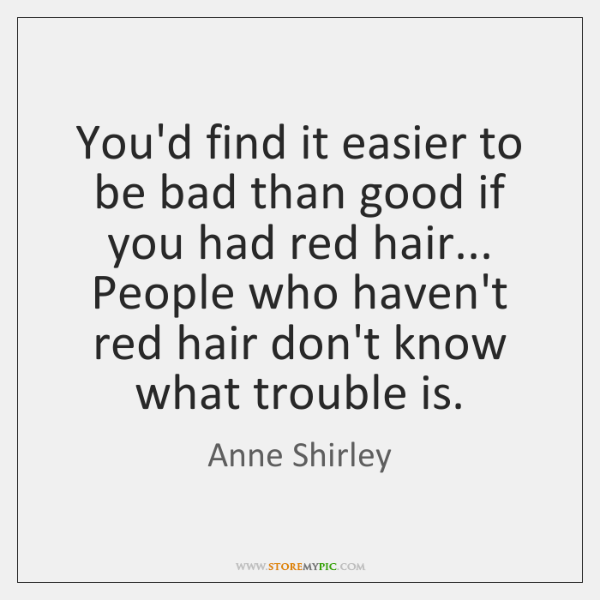 You'd find it easier to be bad than good if you had ...