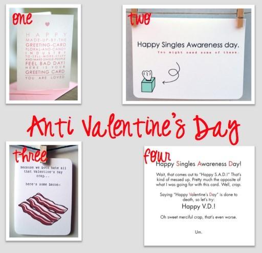 Anti valentine 4 messsages