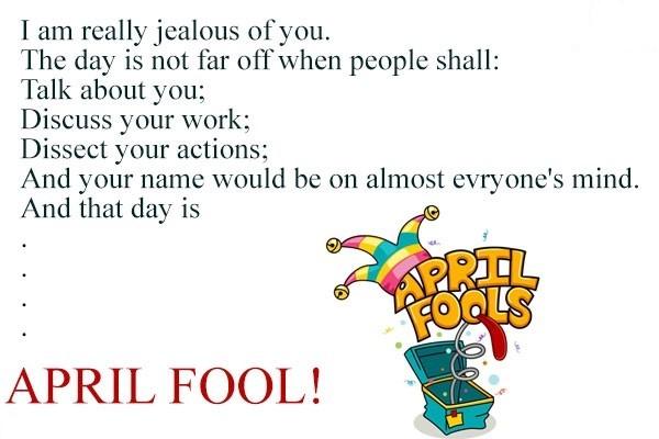 April fool day greetings
