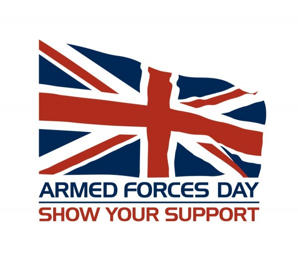 Armed forces day show your support american flag
