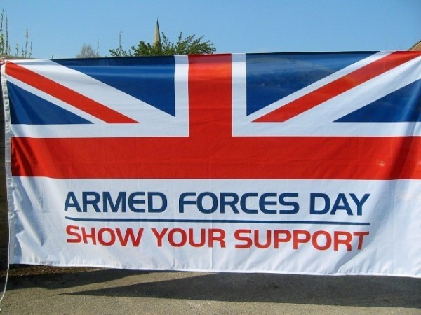 Armed forces day show your support with american flag