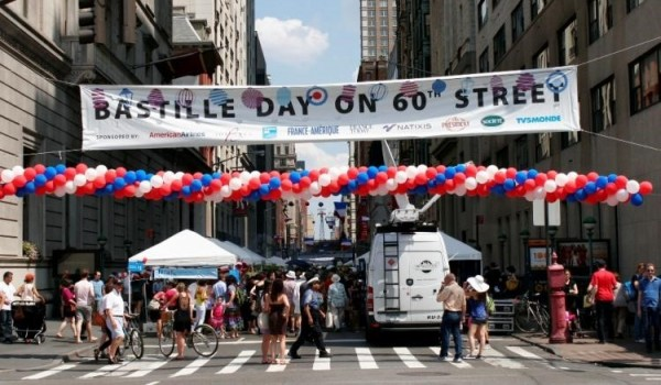Bastille day at newyork