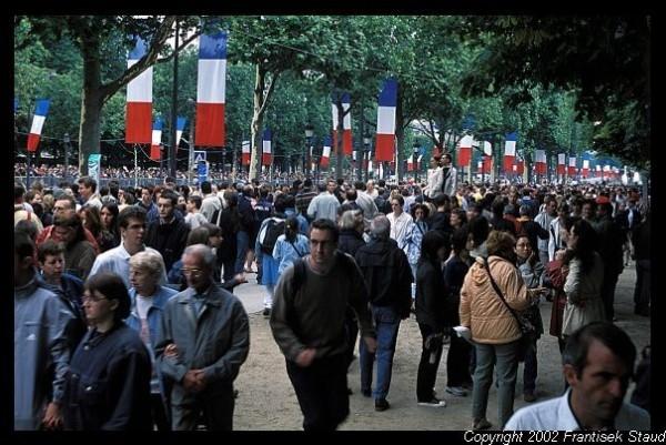 Bastille day at paris