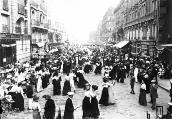 Bastille day dance in 1912 rue du renard 4th arrt paris