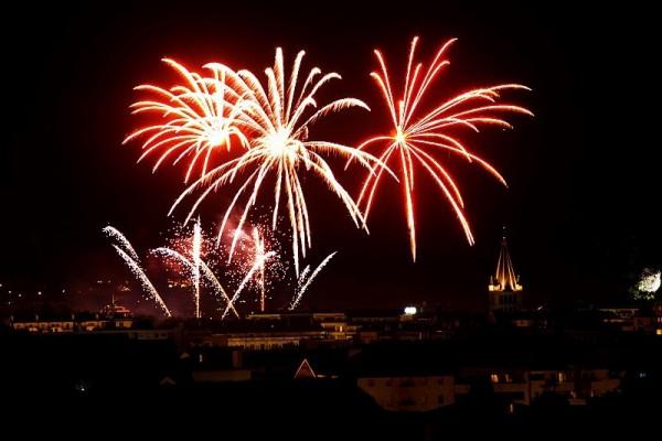 Bastille day firework image