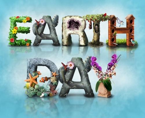 Beautiful earth day