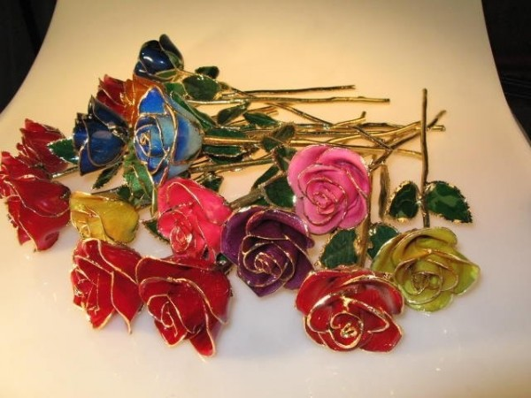 Beautiful handmade roses for you happy rose day