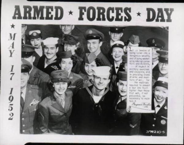 Benjamin franklin armed forces day