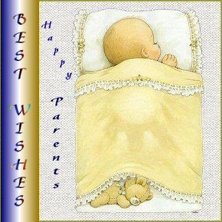 Best wishes happy parents new baby