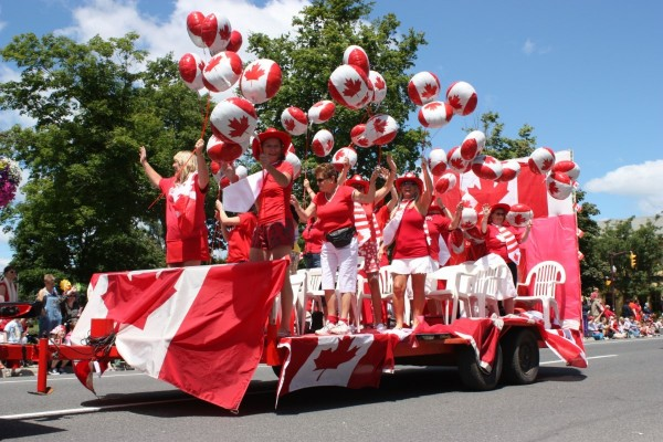 Canada day celebration pict