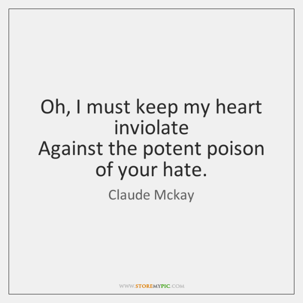 flame heart claude mckay Claude mckay poems, claude mckay poetry - welcome to black poet claude mckay poets page small collection of claude mckay poetry can be found here.