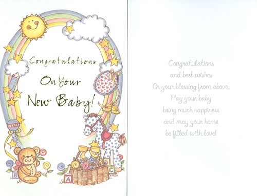 Congratulations on your new baby 002
