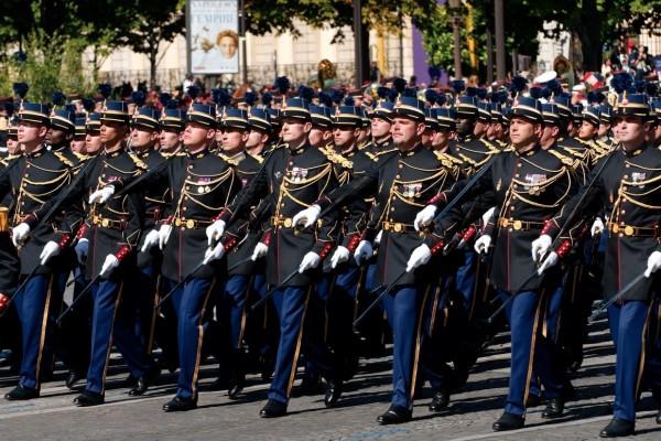 Eogm cadets on basttile day