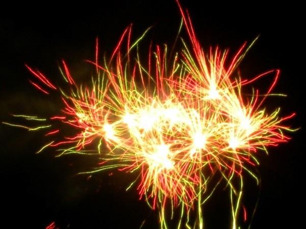 Fireworks australia day