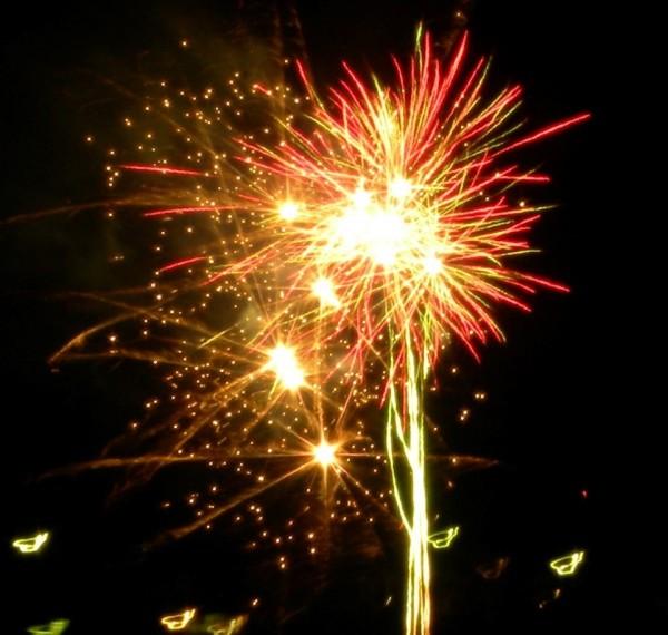 Fireworks australia day image