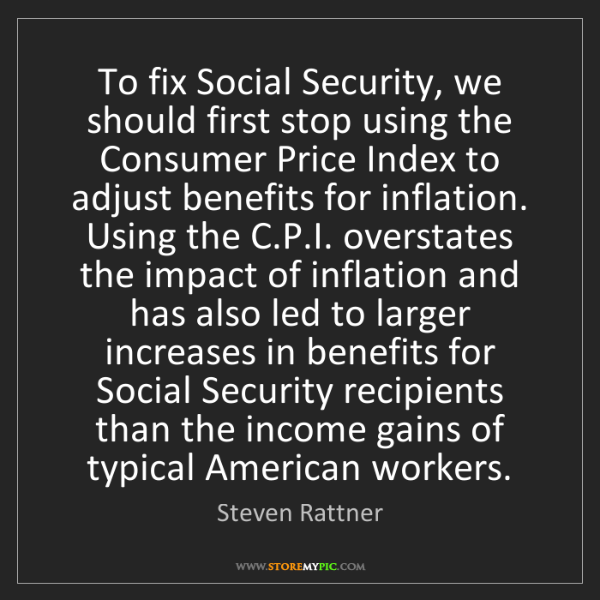 Steven Rattner: To fix Social Security, we should first stop using the...