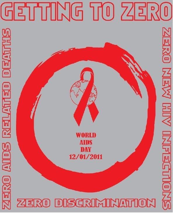 Getting to zero world aids day