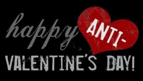 Happy anti valentine day facebook cover picture