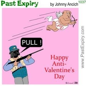 Happy anti valentines day animated
